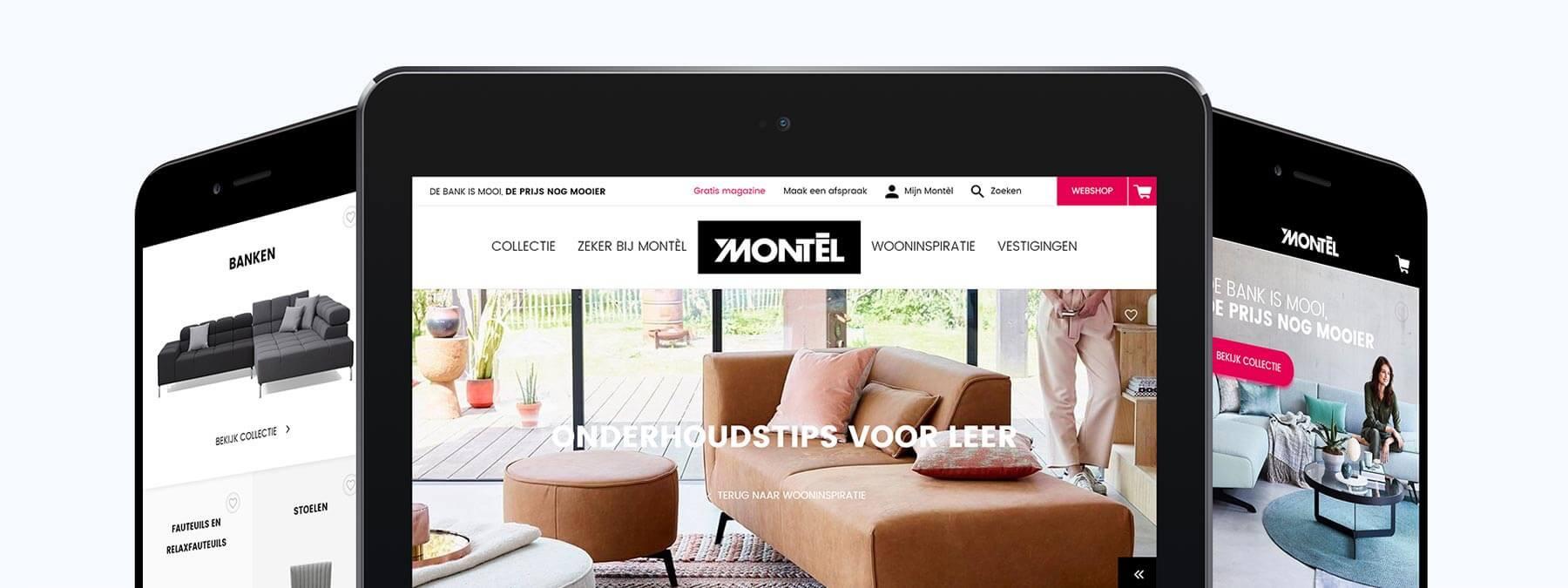 Website ontwikkeling voor Montel B.V. uit Den Bosch