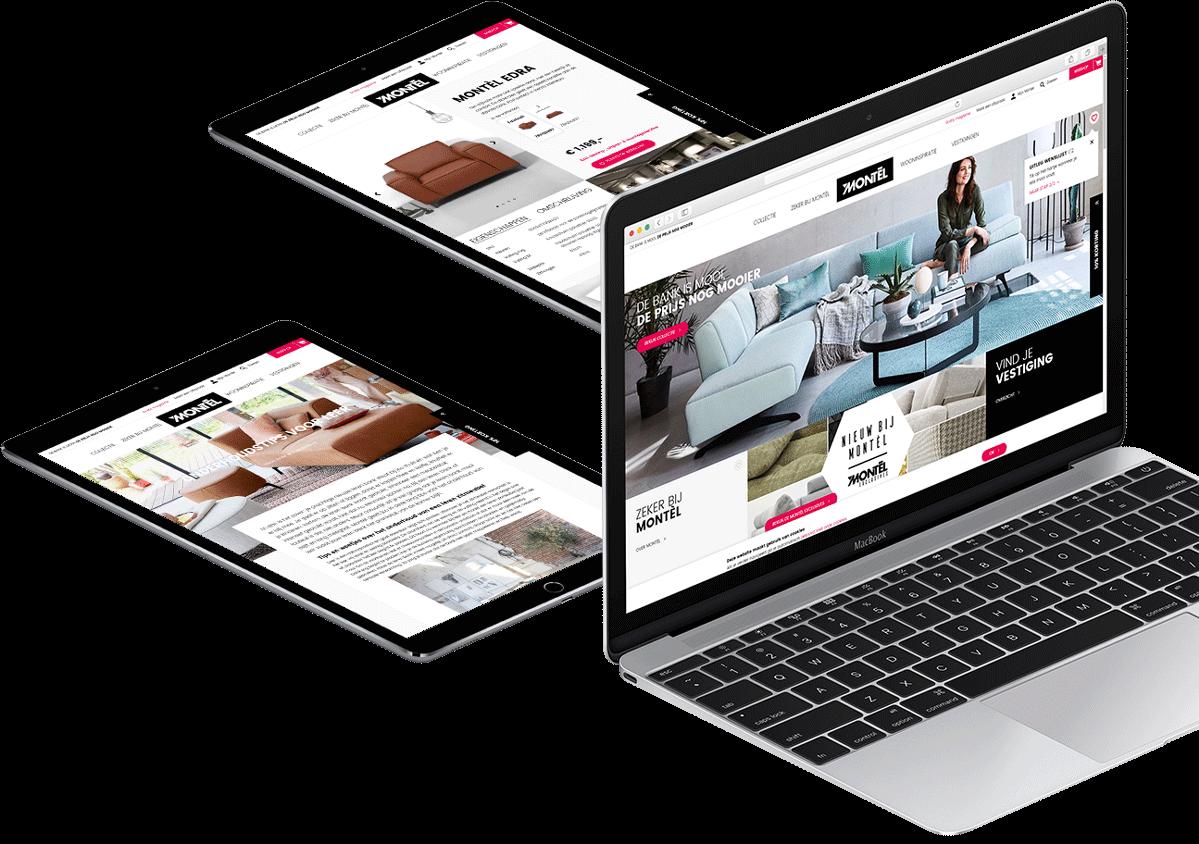Website ontwikkeling voor Montel B.V. uit Waalwijk