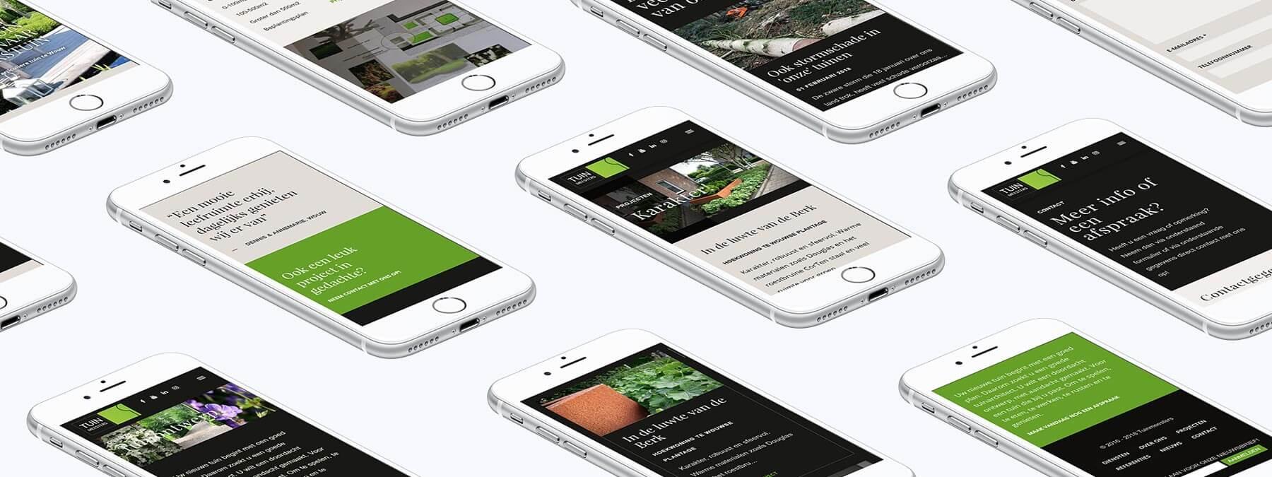 Website ontwikkeling voor Tuinmeesters uit Oud Gastel