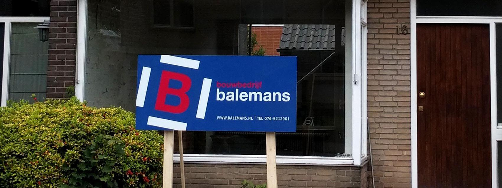 Website ontwikkeling voor Bouwbedrijf Balemans uit Breda
