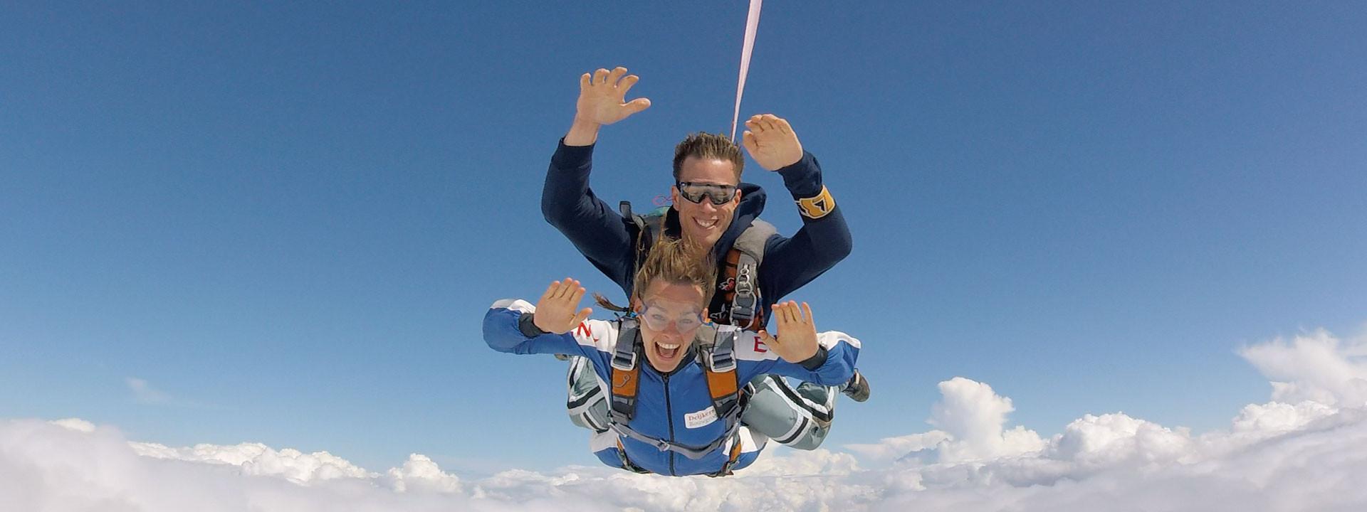 Website ontwikkeling met uitgebreide boekingsmodule voor Skydive ENPC uit Breda