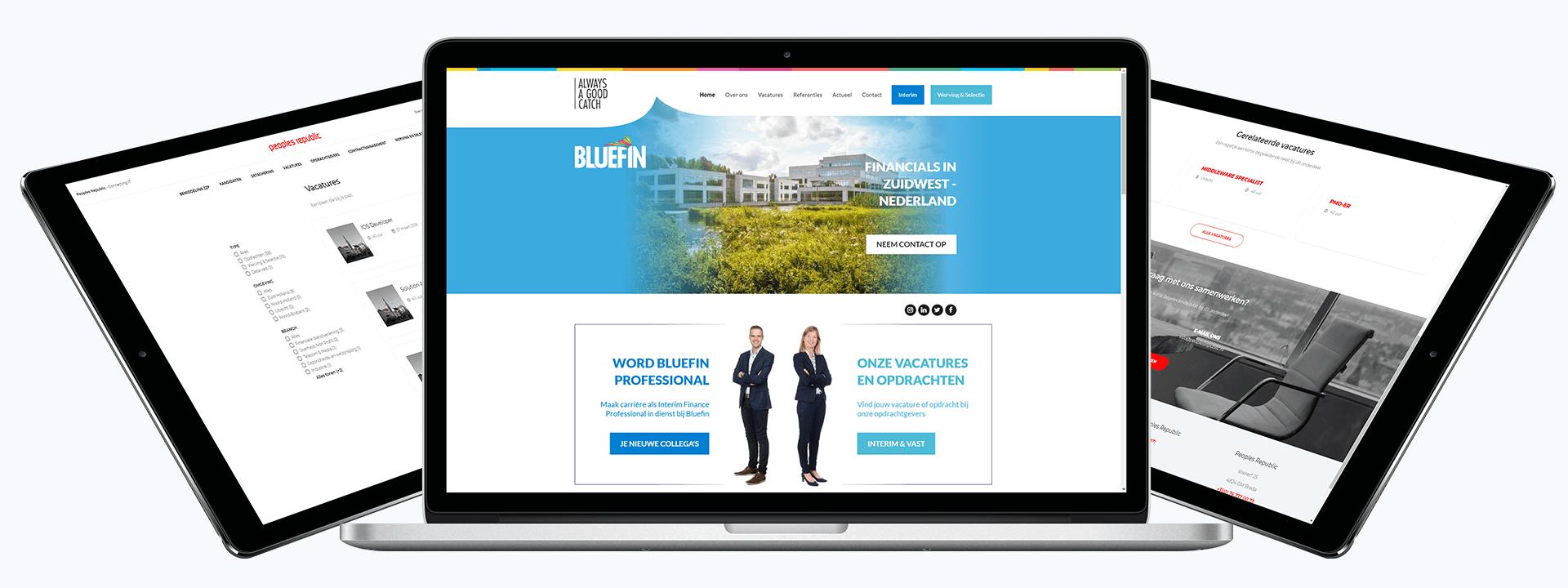 Vacature website maken   klanten van RB-Media uit Breda