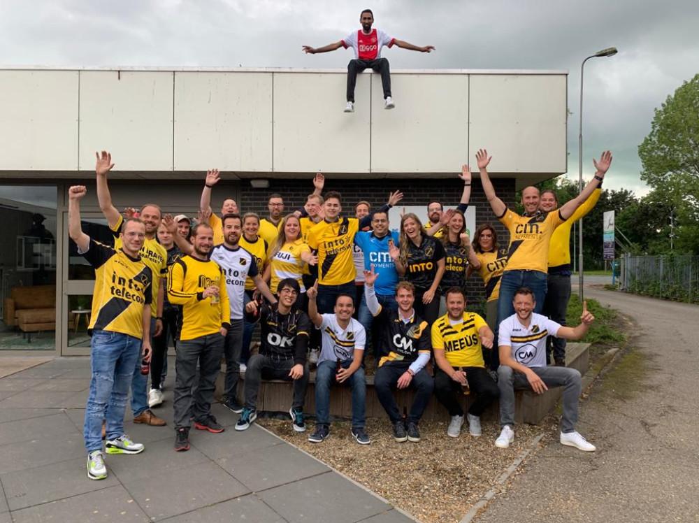 Sfeer bij internetbureau RB-Media uit Breda - Teamfoto