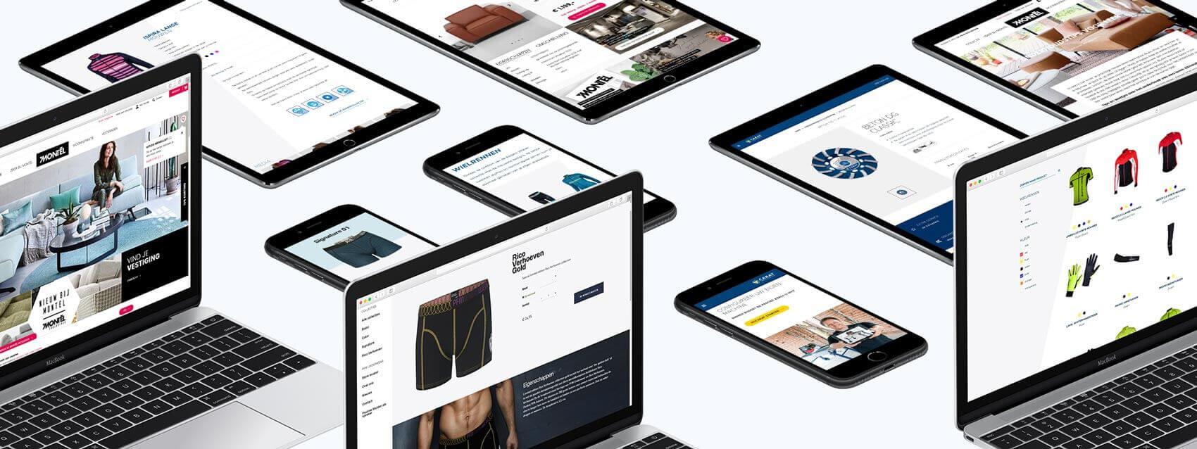 Webshop ontwikkeling door RB-Media uit Breda