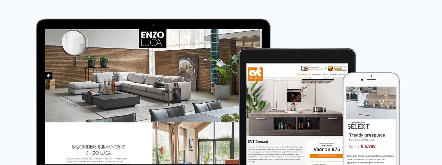 Webdesign voor De Mandemakers Groep uit Waalwijk