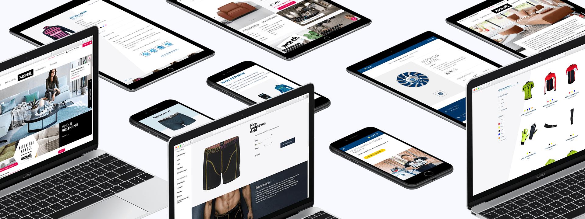 Webwinkel ontwikkeling Breda
