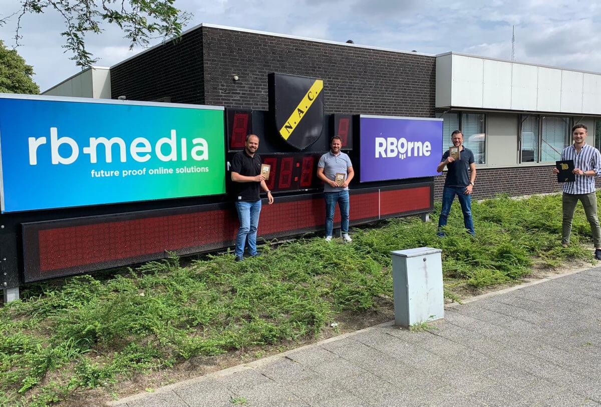 RB-Media ook komend seizoen online partner NAC Breda | RB-Media