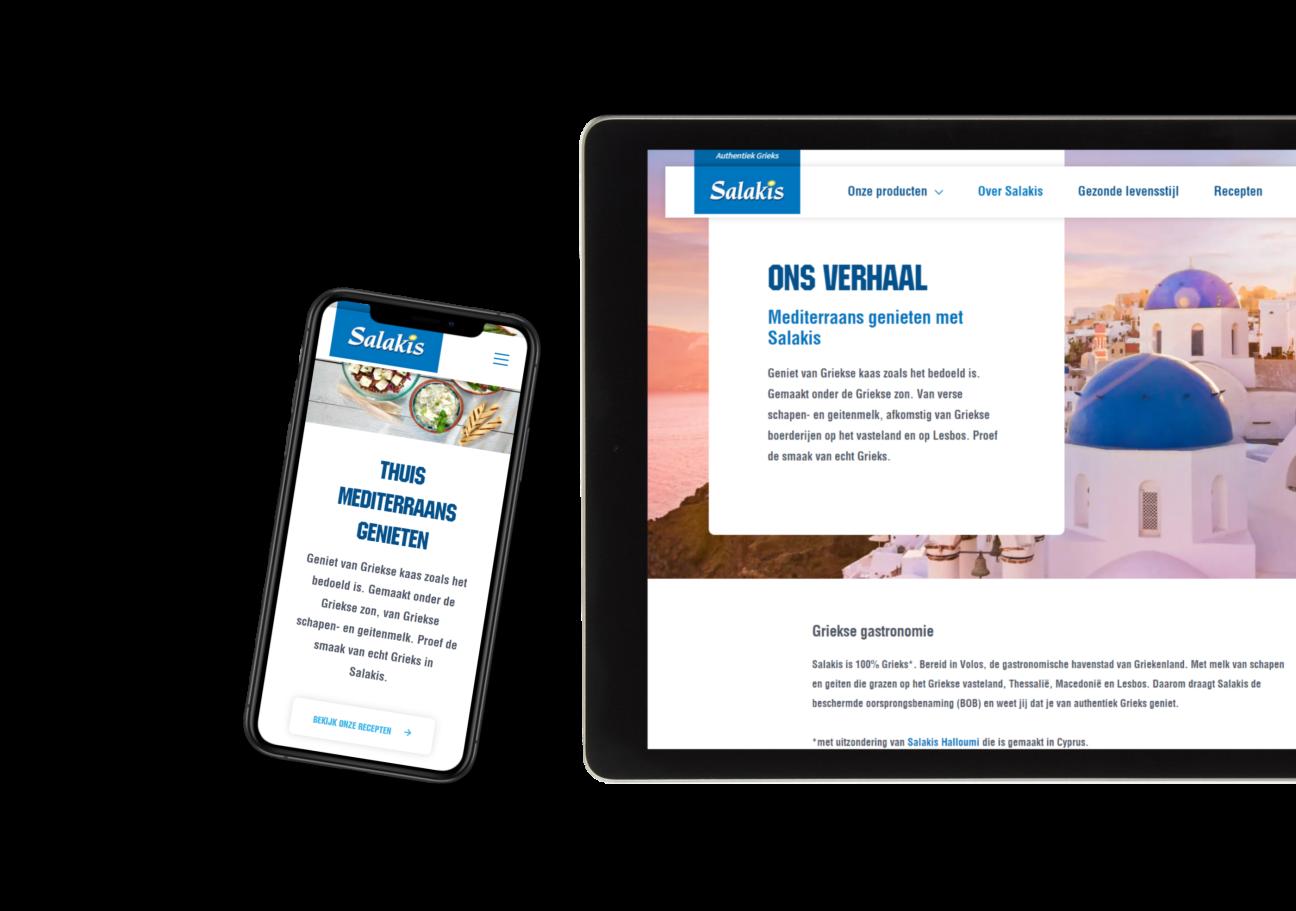 Website ontwikkeling voor Salakis | RB-Media