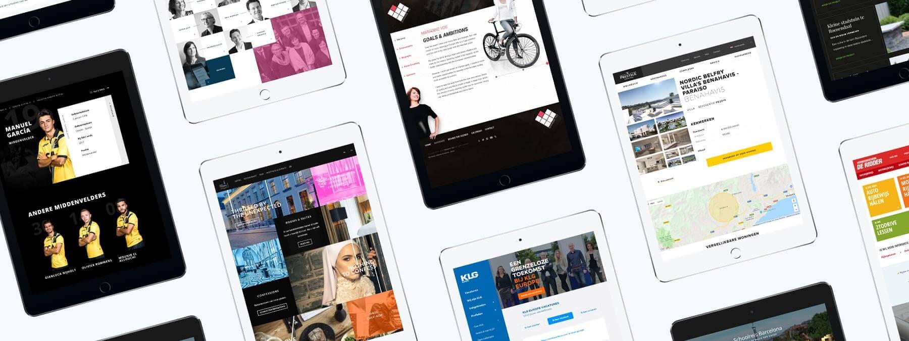 Laat een succesvolle website maken door RB-Media